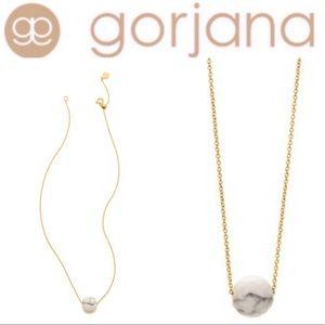 Gorjana Power Gemstone Howlite Bead Necklace